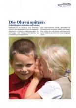 """""""Die Ohren spitzen"""" ist ein Modul aus dem Medienführerschein Bayern."""