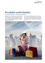 Produkt sucht Käufer Werbung analysieren